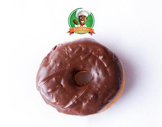 Dough Man Doughnut : Simply Choco Aerial Shot